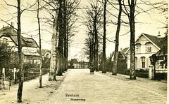 Renkum Nieuweweg 14 Links Huize Zonnewende Nieuweweg 23 rechts ca 1925 GA792 (Historisch Genootschap Redichem) Tags: renkum nieuweweg 14 links huize zonnewende 23 rechts ca 1925 ga792