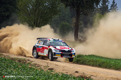2018-057 (Tomasz Seweryn) Tags: tomaszseweryn redpixel fotografiarajdowa rajdpolski rallypoland szuter gravel mikołajki fia erc