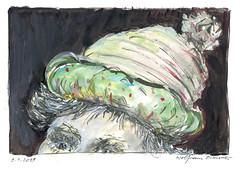 Wolfram Zimmer: On the road - Unterwegs (ein_quadratmeter) Tags: wolfram zimmer meinzimmer wolframzimmer kunst malerei gemälde painting freiburg burg birkenhof kirchzarten ausstellung ausstellungen aktionskunst zeichnung grafik drawing graphic improvisation idee gegenständliche ungegenständliche art paintings exhibition exhibitions action idea objectively nonobjective representational nonrepresentational tusche ink rohrfeder reed haare frisur hair hairstyle
