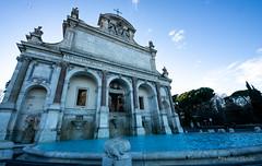La fontana dell'acqua paola (FedeWatchTheHorizon) Tags: roma rome italy italia caputmundi fontana water acqua art arte architetture architettura gianicolo
