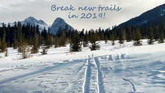 Break New Trails in 2019! (altamons) Tags: xcountry winterland winter white tracks snow skiing ski rockymountains rocky rockies mountainview mountains mountain kcountry kananaskiscountry kananaskis cold canadianrockies canadian canada altamons alberta nordic nordiccentre nighttime nightshot canmore outdoor happynewyear seasonsgreetings