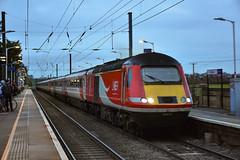 43313 + 43311 - Foxton - 12/01/19. (TRphotography04) Tags: london northeastern railways lner hst 43313 43311 pass foxton working diverted 1e11 0752 aberdeen kings cross