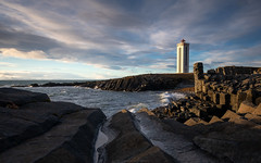 Kálfshamarsviti Iceland (Sascha Gebhardt Photography) Tags: nikon nikkor d850 1424mm lightroom landscape landschaft lighthouse leuchtturm photoshop island iceland travel tour reise roadtrip reisen fototour fx