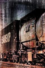 Freight train - Güterzug (b_kohnert) Tags: digiart digitalart digitalpainting painting texture abstract train railway
