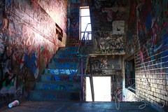 Echo Lake Incinerator 1.27.19.6 (jrbeckwith) Tags: echolakeincinerator 2019 photo picture jr beckwith jbeckr fortworth texas tx echo lake incinerator endangered danger old history historic abandoned left decay drug drugdealer graffiti girls shoot ruins