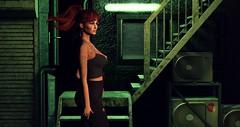 After Midnight (Saga Mea) Tags: night nightscene urban city citylife sl secondlife avatar metaverse digitalart 3dart 3dgirl