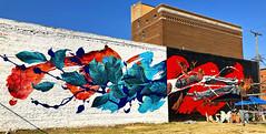 Memento Mori by Meggs (wiredforlego) Tags: graffiti mural streetart urbanart aerosolart publicart detroit michigan dtw easternmarket davidhooke meggs