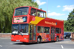 Awaydays City Sightseeing Norwich 100BGO (Will Swain) Tags: norwich 28th july 2018 bus buses transport travel uk britain vehicle vehicles county country england english norfolk east city centre awaydays sightseeing 100bgo former x589egk goahead london pvl189 coach services