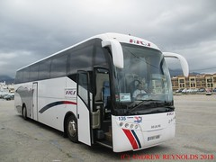 """2018 031007 MAN ANDECAR COACH AUTOCARES RIOS ALICANTE 135 9181 HBR  IN NERJA (Andrew Reynolds transport view) Tags: europe spain andalucia transport bus coach transit passenger omnibus diesel """"mass transit"""" 2018 031007 man andecar autocares rios alicante 135 9181 hbr in nerja"""