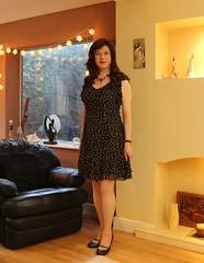 Classy Conran (Joanne (Hay Llamas!)) Tags: transgender transwoman tg shemale brunette tgirl cute uk brit british britgirl dress elegant jasperconran classy