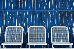Chairs (*Capture the Moment*) Tags: 2019 allianzarena architecture architektur farbdominanz februar february fotowalk munich münchen seats sitze sonyilce6300 stefan tum blau blue weiss white
