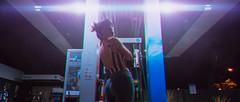 (Nikolas L.) Tags: woman explore retrato beauty urban urbano portrait street girl streetphotography city santiago photography light night moment young cyberpunk cinematography luz luces ciudad blue intimate cinematic nikond7100 sigma 35mm cinema chile color noche calle