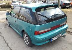 1995 Suzuki Swift 1.3 (FromKG) Tags: suzuki swift 13 green car kragujevac serbia 2019