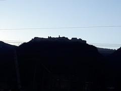 castello di beseno (PORTOBESENO) Tags: skyline panorama mattina profilo azzurro blu castel