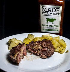 Stuffed beef burger (S_Simov Photography) Tags: beef burger food meat frie fried bacon cheese yummy