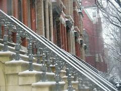 Classic Architecture, Snow View, Jersey City, New Jersey (lensepix) Tags: classicarchitecture snowview jerseycity snow winter
