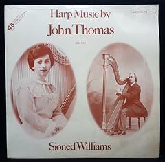 Harp Music by John Thomas (Jacob Whittaker) Tags: vinyl record sleeve art cover wales cymru album