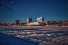 Umeå 20190221 (johan.bergenstrahle) Tags: 2019 architecture arkitektur aurorahdr building byggnad captureone city cityscape februari february finepicsse hdr älv stadsbild sverige sweden town umeå umeälv umeriver vinter winter