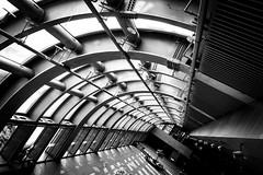 DSC_7359 (靴子) Tags: 黑白 單色 街拍 城市 台北 捷運大安森林公園站 bw bnw street streetphoto city taipei d850 nikon 結構 線條 建築 nikkor
