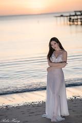 DSC_7581 (Robin Huang 35) Tags: 謝立琪 kiki 沙巴 sabah 馬來西亞 malaysia 迪加島 生還島 island 海灘 沙灘 海邊 beach 裸紗 遊拍 人像 portrait lady girl nikon d850 menumbok my