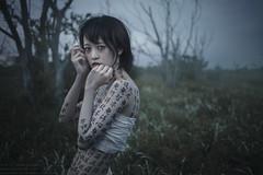 Grudge the obey (TAKAGI.yukimasa1) Tags: portrait woman people cute girl beauty female fineart canon eos 5dsr japanese asiangirl asian cool dark ポートレート 人像 人像攝影 fineartphotography 外拍 portraitphotography portraiture conceptualphotography happyplanet asiafavorites