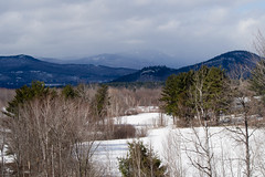 Snowy Mountains (Northern Wolf Photography) Tags: clouds em5 forest mountwashington mountains olympus snow trees valley whitemountains winter woods northconway newhampshire unitedstatesofamerica us
