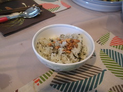 rice with pine nuts (Danny / ixfd64) Tags: ixfd64 nikon coolpix food