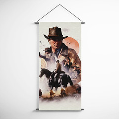 Red Dead Redemption 2 Arthur Morgan Banner Flag for Gamers BFRDR009 (gamewallart) Tags: background banner billboard blank business concept concrete design empty gallery marketing mock mockup poster template up wall vertical canvas white blue hanging clear display media sign commercial publicity board advertising space message wood texture textured material wallpaper abstract grunge pattern nobody panel structure surface textur print row ad interior