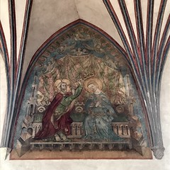 IMG_5999 (Andy961) Tags: polska poland malbork marienburg castle interior vault vaulting arch painting paintings unesco worldheritage