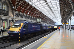 Great Western Railway HST 43053 & 43018 (Will Swain) Tags: london paddington station 21st august 2018 greater city centre capital south train trains rail railway railways transport travel uk britain vehicle vehicles england english europe class 43 high speed great western hst 43053 43018 053 53 018 18