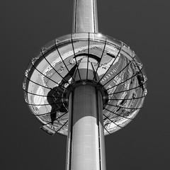 i360 Brighton-E6130031 (tony.rummery) Tags: attraction brighton em10 mft microfourthirds omd olympus seaside southcoast sussex tower viewpoint i360 england unitedkingdom gb