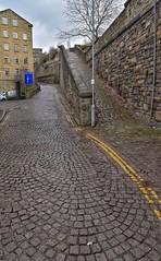 The Snicket - Dean Clough (Mr_Pudd) Tags: billbrandt nikond750 nikon granitecobbles granite halifax deanclough stone cobbles afsvrzoomnikkor2485mmf3545gifed