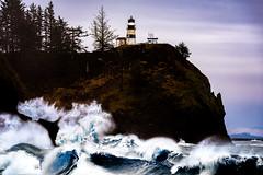 Fairytale (kephart_kyle) Tags: andclark beautiful capedisappointment columbiariver lewis lighthouse ocean washington waves