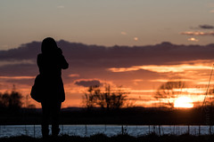 taking sunset pictures (Florian Grundstein) Tags: passionphotography sunset photographer silhouette lakeside moody nikon dx d500 oberpfalz bayern naabtal