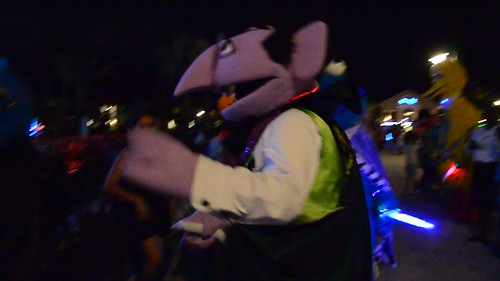Dancing With The Muppets At The End Of The Junkanoo Parade