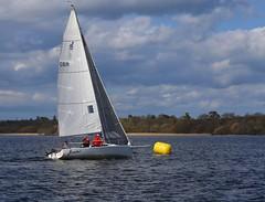 Chasing hard (antrimboatclub) Tags: antrimboatclub boat sail sailing ireland sixmilewater loughneagh antrimbay antrim