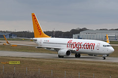 TC-CRB Boeing B737-8AL Pegasus Airlines Stansted 02nd March 2019 (michael_hibbins) Tags: tccrb boeing b7378al pegasus airlines stansted 02nd march 2019 aeroplane aerospace aircraft aviation airplane air aero airfields airport airports civil commercial passanger passenger jet jets tc turkey turkish