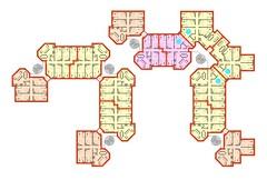 Typical apartment plans
