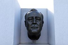 FDR (jschumacher) Tags: nyc rooseveltisland franklindelanoroosevelt sculpture bust fdr