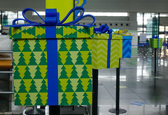 Gift boxes for decoration at the airport (phuong.sg@gmail.com) Tags: advent assorted background ball blue box card celebration christmas christmastree composition concept craft creative december decor decoration decorative event festive flower gift greeting handmade happy holiday idea many merrychristmas newyear noel ornament present ribbon season shopping sky star tradition variation wrapping