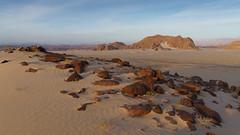 The desert of Southern Sinai (Götz_) Tags: desert wüste mountains rocks sand trekking hiking