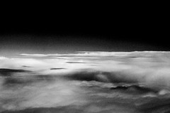 Exist - 3 (snowghoul) Tags: bnw blackandwhite experimental lansdcape clouds sky