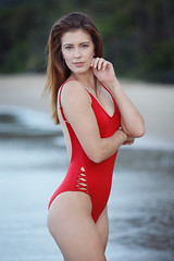 Bec - Ellis Beach (Rob Harris Photography) Tags: australia artistic attractive active beautiful beauty babe body beach bikini creative contrast colour chic cute curves colours dramatic dreamy expressive female fashion feminine figure form fitness femme fit girl gorgeous glamour healthy happy lifestyle model modelling naturallight naturalbeauty nature queensland portrait photoshoot pretty stunning swimwear swimsuit woman summer seaside sunny baywatch red onepiece monokini bodysuit redhair redhaired redhead