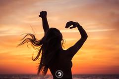 Sérénité (popz.photographie) Tags: sunset ocean model topless colors amazing moment good shooting