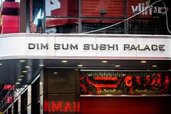 Dim Sum Sushi (Thomas Hawk) Tags: america dimsumsushipalace manhattan nyc newyork newyorkcity timessquare usa unitedstates unitedstatesofamerica chineserestaurant neon neonsign restaurant fav10