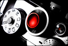 Press RED. . . (CWhatPhotos) Tags: cwhatphotos olympus pen penf four thirds view digital camera photographs photograph pics pictures pic picture image images foto fotos photography artistic that have which with contain art light shadow shadows off switch button bw mono monochrome color colour colors colours select selection partial buttons dials red