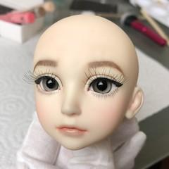 Luts Kid Delf Event Head 01 (PeachMuffinBJD) Tags: eventhead kiddelf luts customization custom repaint faceup balljointeddoll bjd