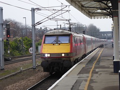 91115 arrives at York (20/1/19) (*ECMLexpress*) Tags: lner london north eastern railway 225 class 91 91115 82211 york ecml
