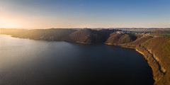 Edersee (Pascal Riemann) Tags: waldeck edersee architektur landschaft stimmung see abendstimmung drohne gewässer burg panorama gebäude natur deutschland architecture building germany haus house lake landscape nature outdoor castle drone eveningmood fortress mood waters edertal hessen de