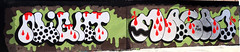 Graffiti in Amsterdam (wojofoto) Tags: amsterdam graffiti streetart nederland netherland holland wojofoto wolfgangjosten ndsm night macao